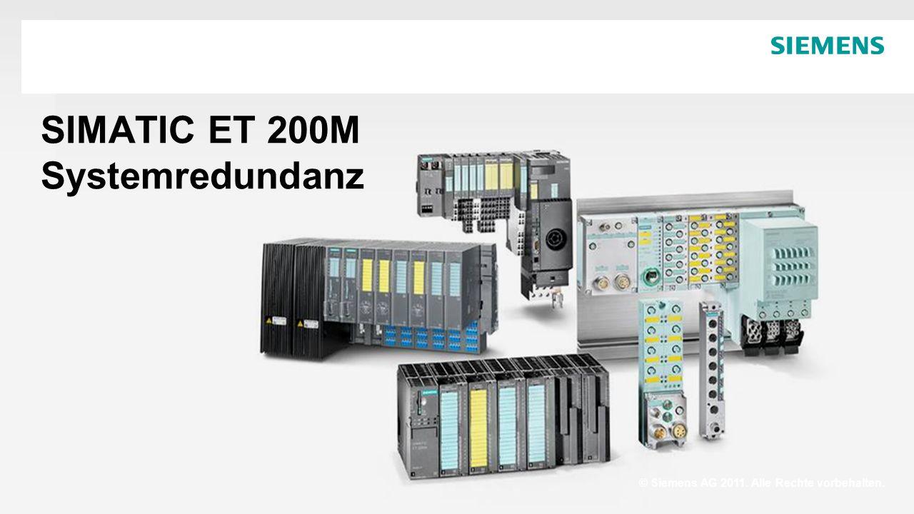 SIMATIC ET 200M Systemredundanz