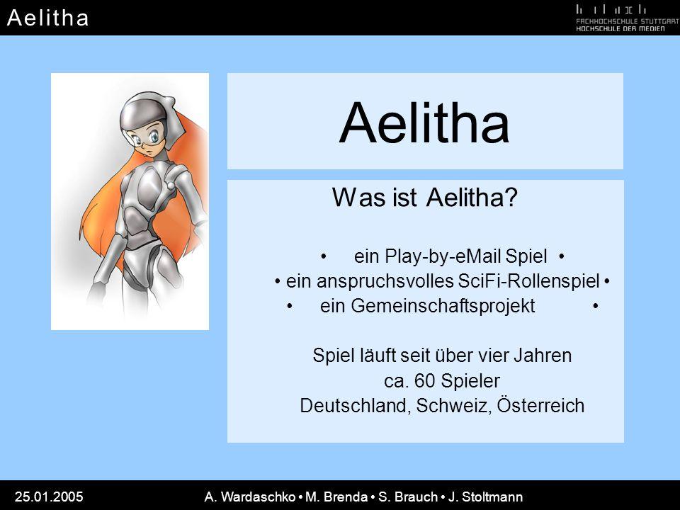 Aelitha Was ist Aelitha • ein Play-by-eMail Spiel •