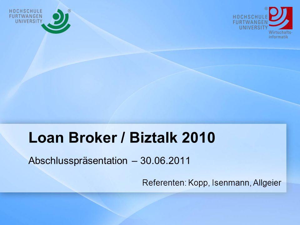 Abschlusspräsentation – 30.06.2011