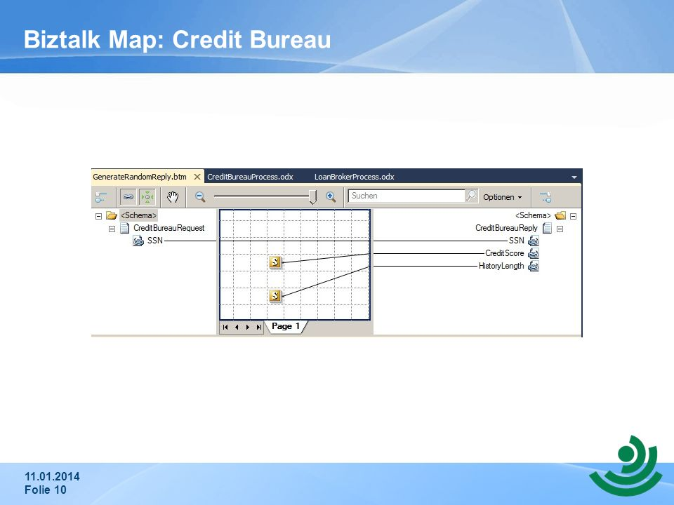 Biztalk Map: Credit Bureau