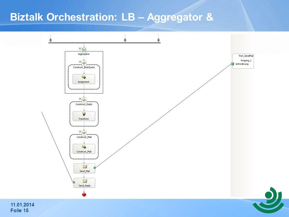 Biztalk Orchestration: LB – Aggregator &