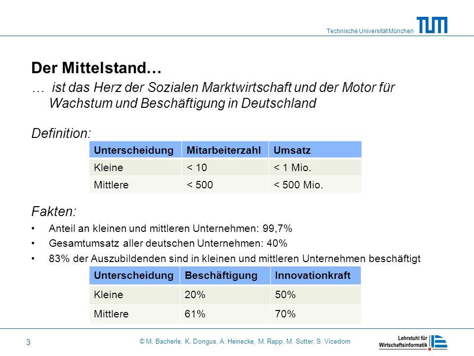 Der Mittelstand… … ist das Herz der Sozialen Marktwirtschaft und der Motor für Wachstum und Beschäftigung in Deutschland.