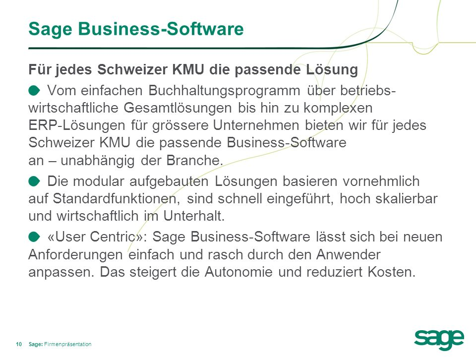 Sage Business-Software