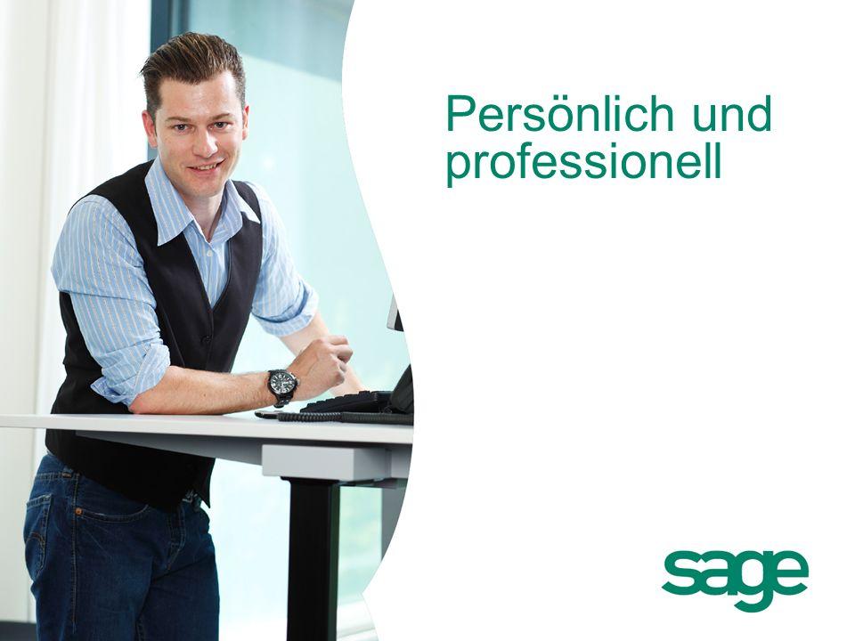 Persönlich und professionell