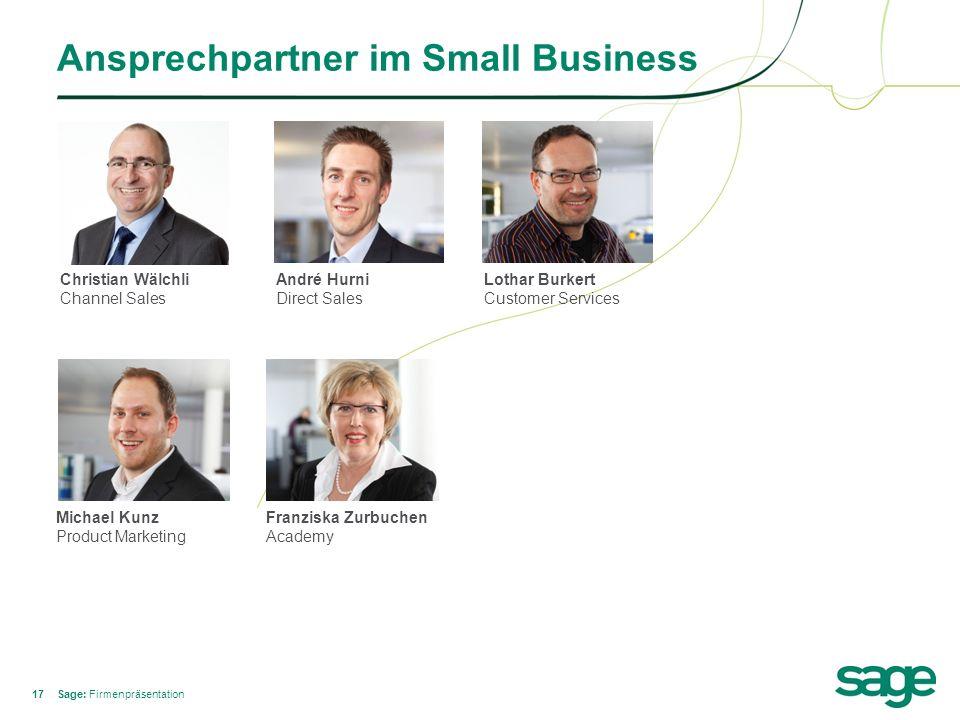 Ansprechpartner im Small Business