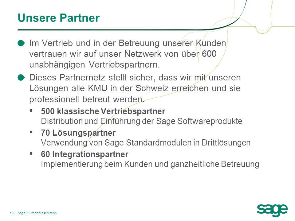 Unsere Partner Im Vertrieb und in der Betreuung unserer Kunden vertrauen wir auf unser Netzwerk von über 600 unabhängigen Vertriebspartnern.