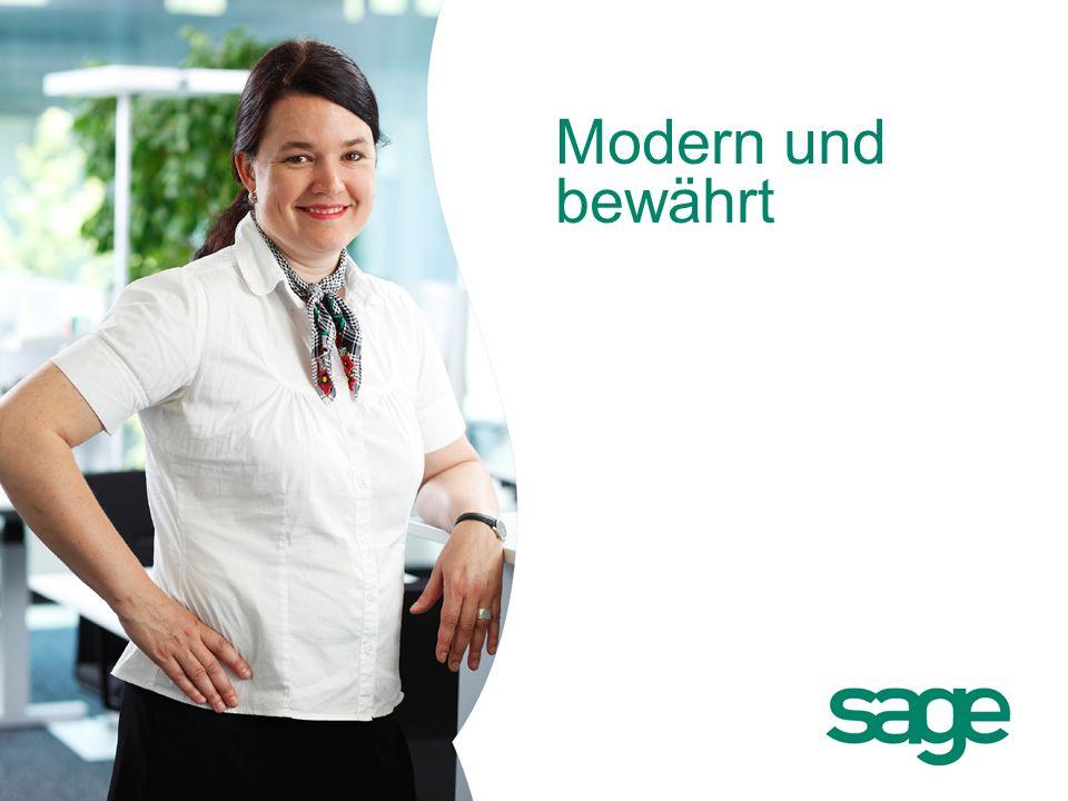 Modern und bewährt Sage: Firmenpräsentation