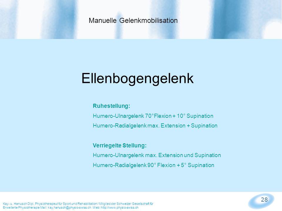 Manuelle Gelenkmobilisation
