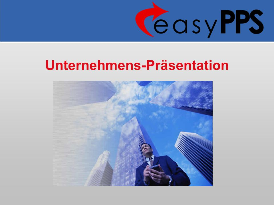 Unternehmens-Präsentation