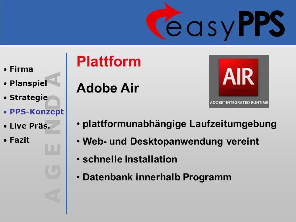 Plattform Adobe Air plattformunabhängige Laufzeitumgebung