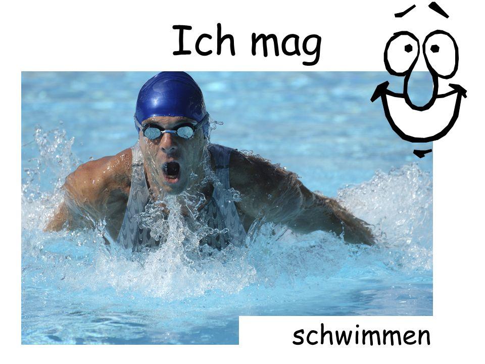 Ich mag schwimmen