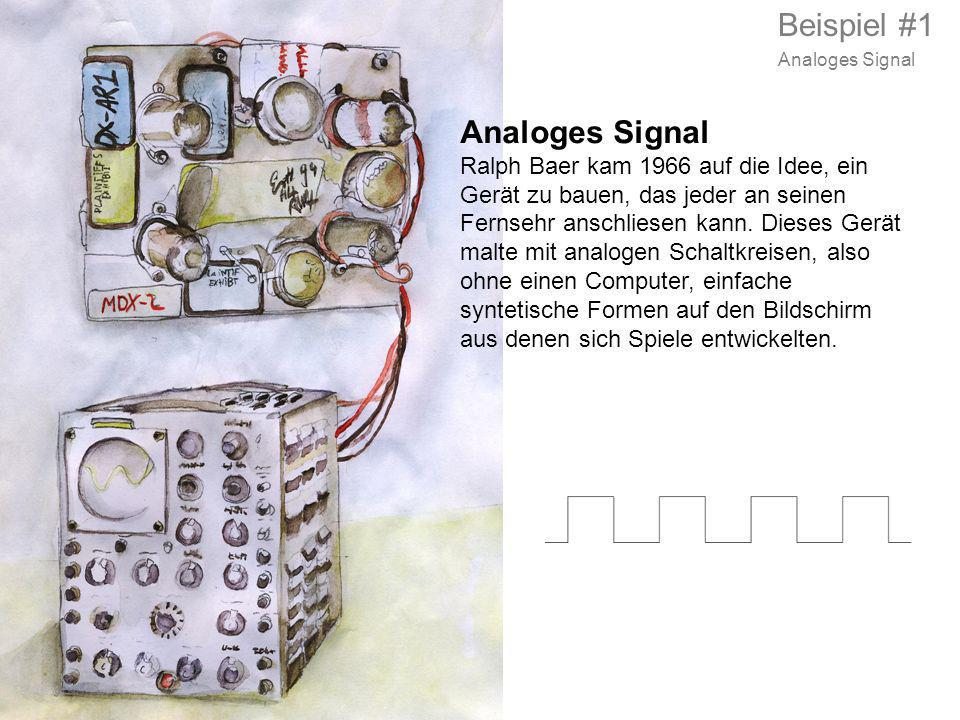 Beispiel #1 Analoges Signal