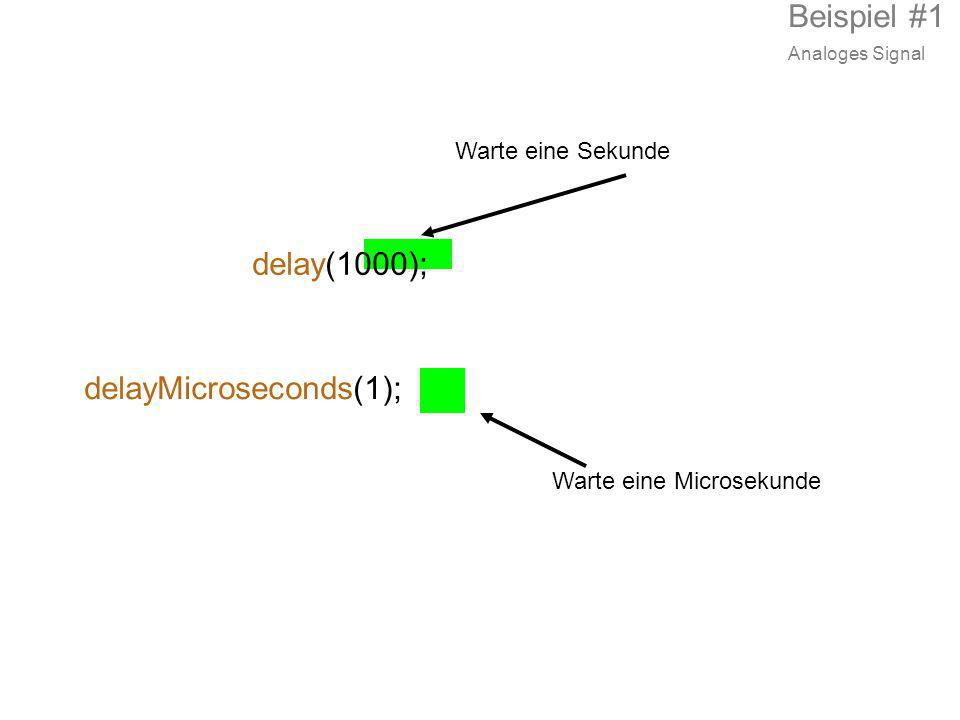 delayMicroseconds(1);