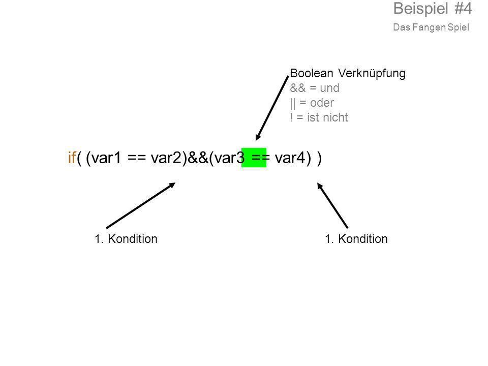 if( (var1 == var2)&&(var3 == var4) )