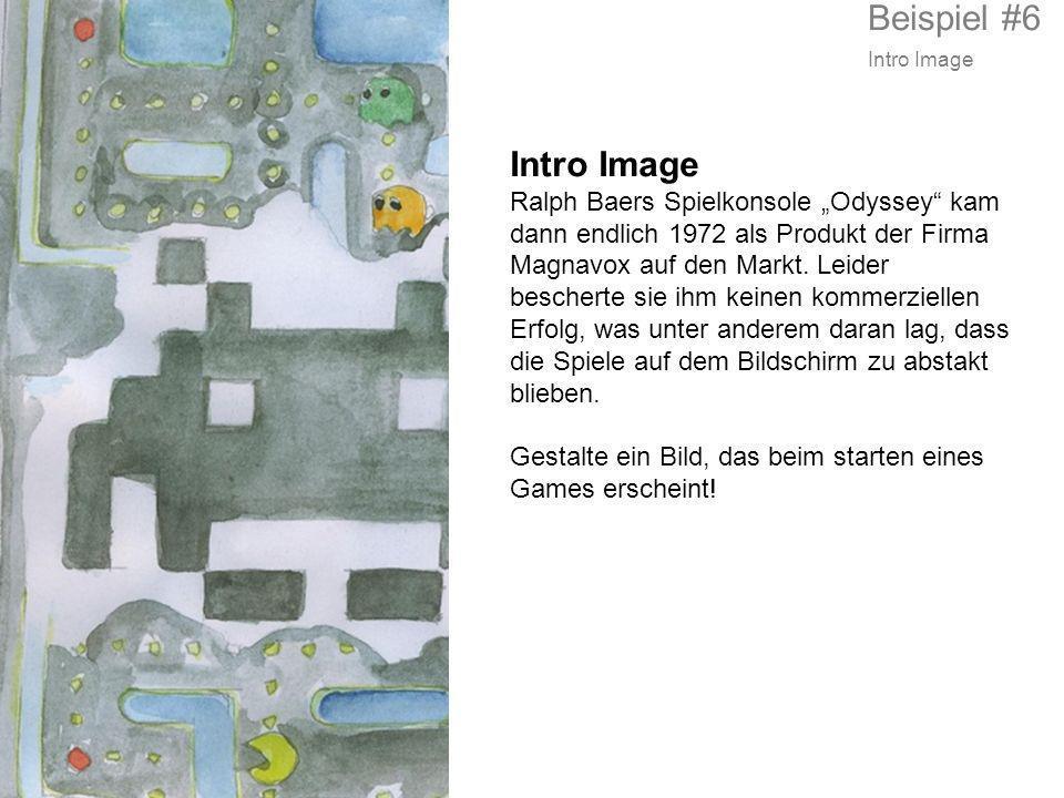 Beispiel #6 Intro Image. Intro Image.