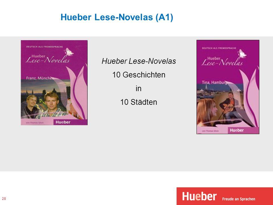 Hueber Lese-Novelas (A1)