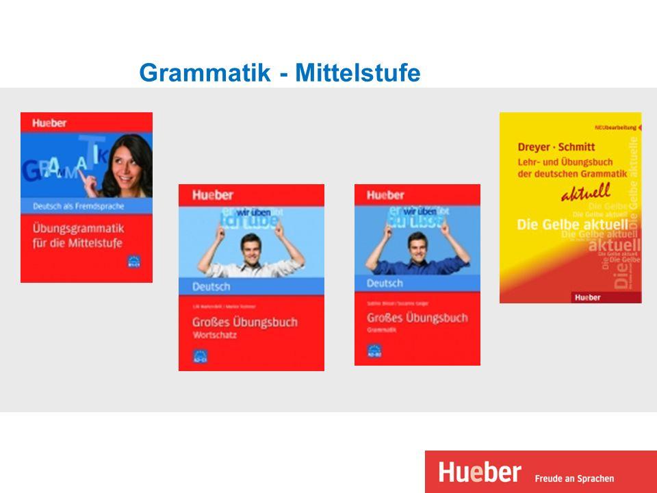 Grammatik - Mittelstufe