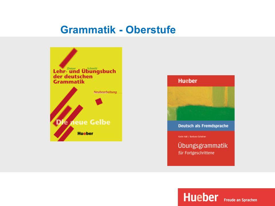 Grammatik - Oberstufe