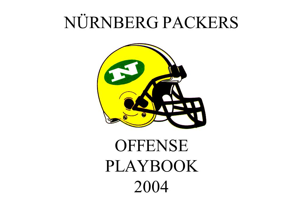 NÜRNBERG PACKERS OFFENSE PLAYBOOK 2004