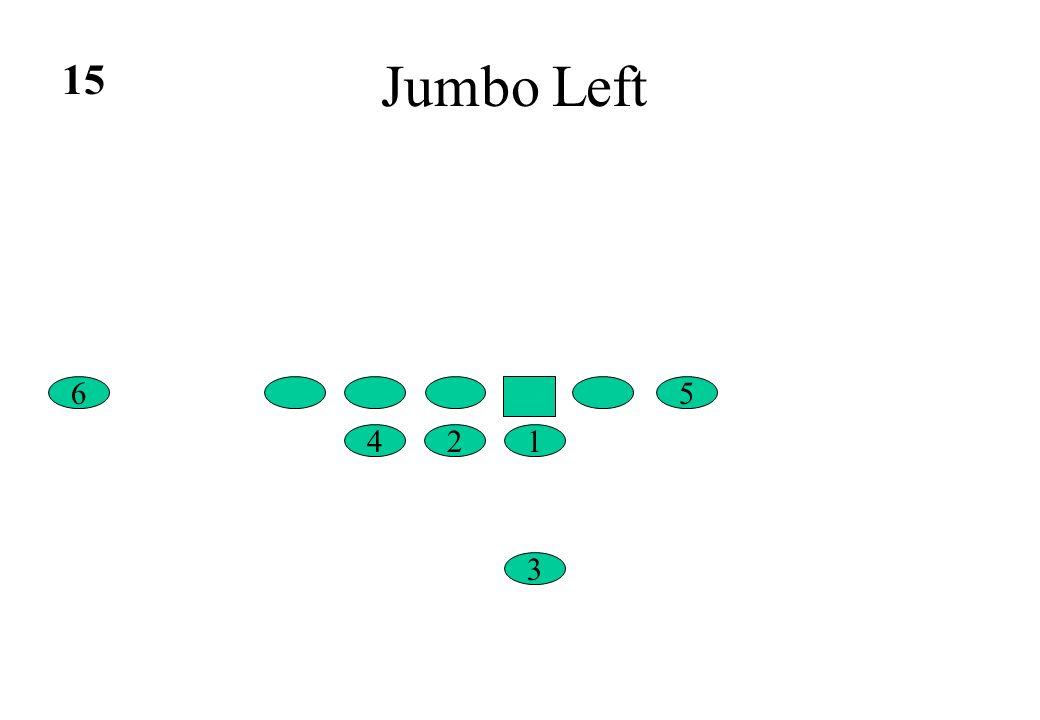 Jumbo Left 15 6 5 4 2 1 3