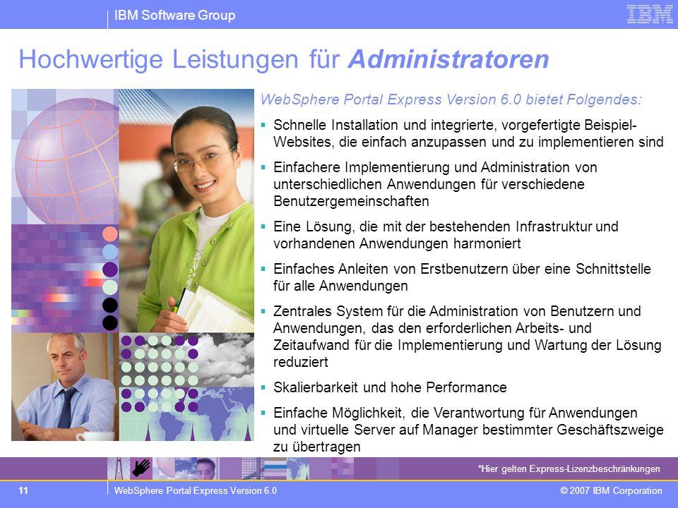 Hochwertige Leistungen für Administratoren