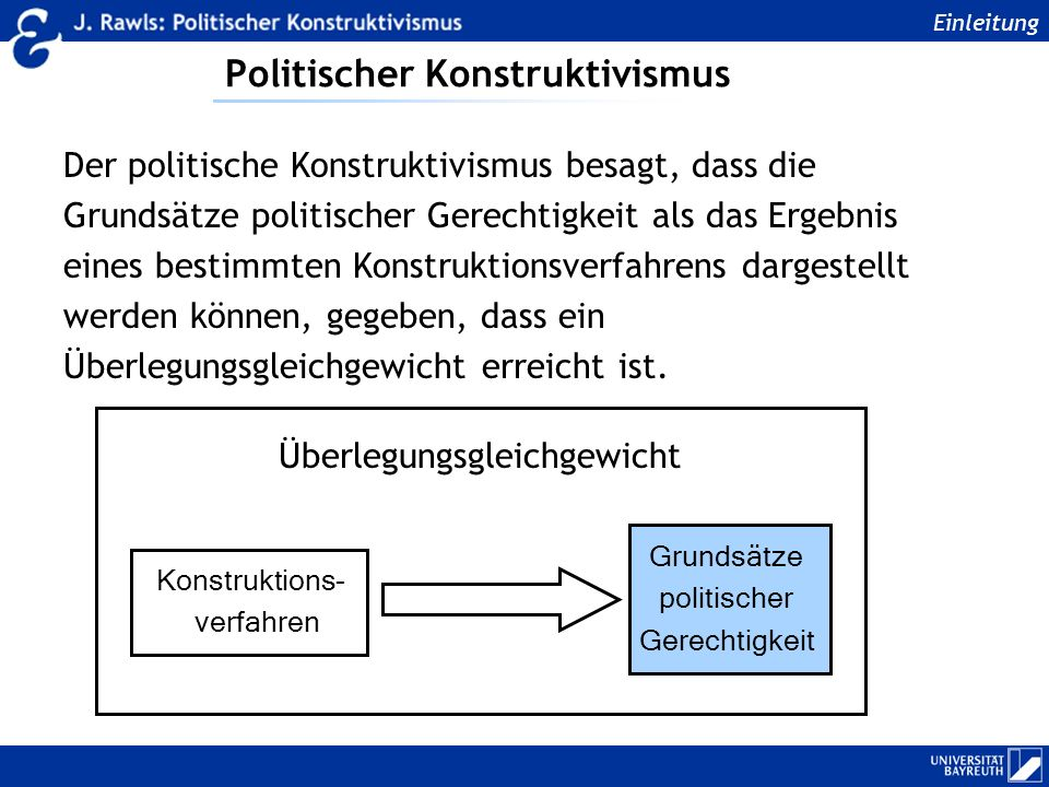 Politischer Konstruktivismus