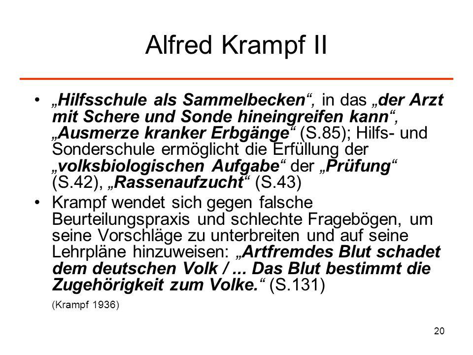 Alfred Krampf II