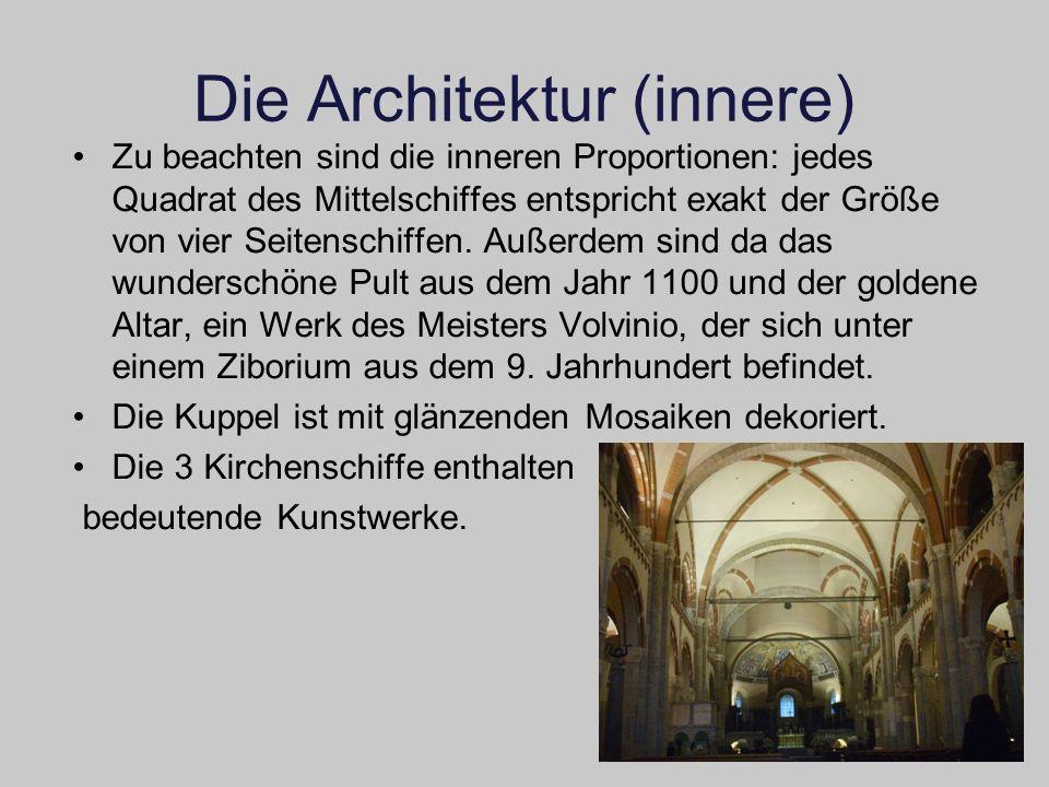 Die Architektur (innere)
