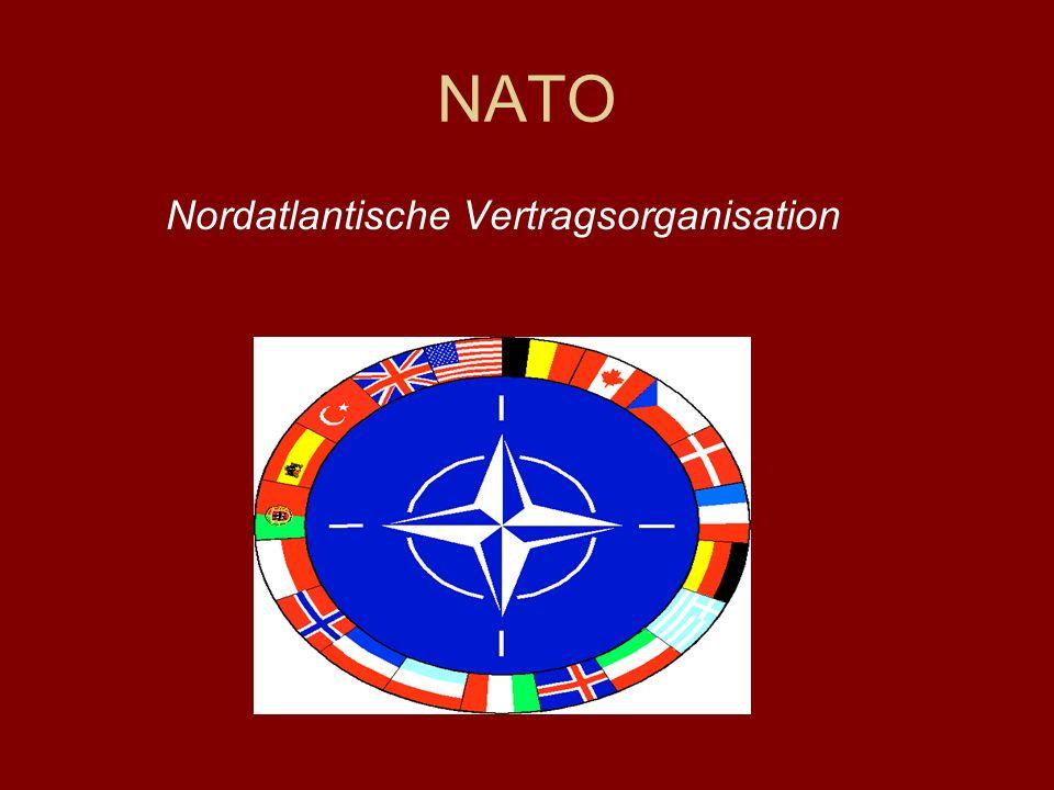 NATO Nordatlantische Vertragsorganisation
