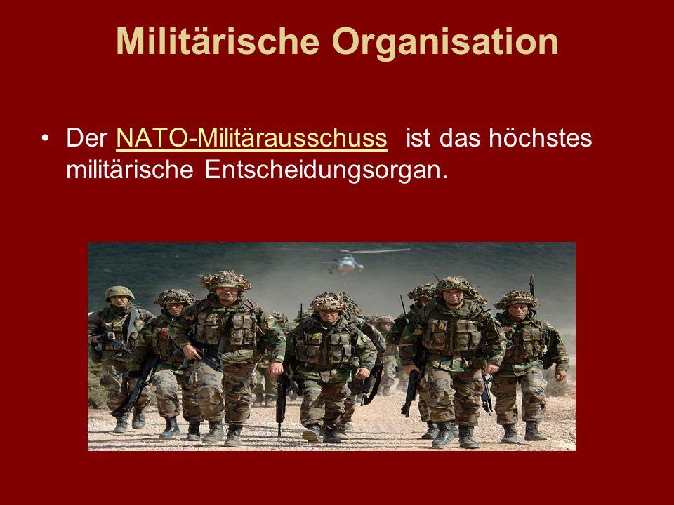 Militärische Organisation