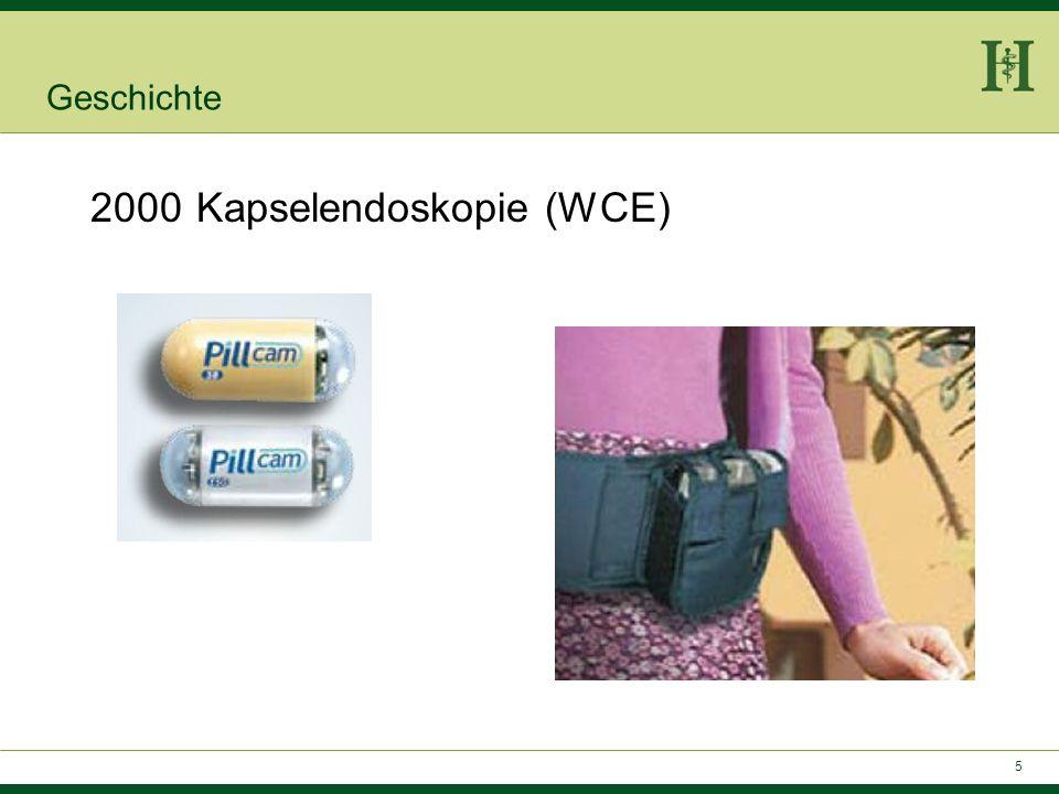 2000 Kapselendoskopie (WCE)