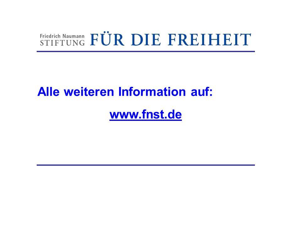 Alle weiteren Information auf: www.fnst.de