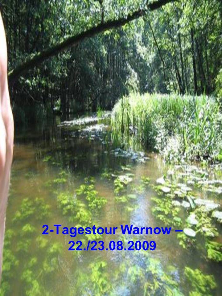 2-Tagestour Warnow – 22./23.08.2009