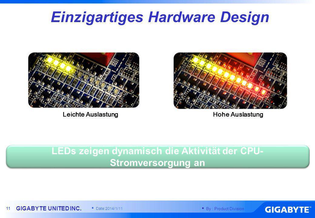 Einzigartiges Hardware Design
