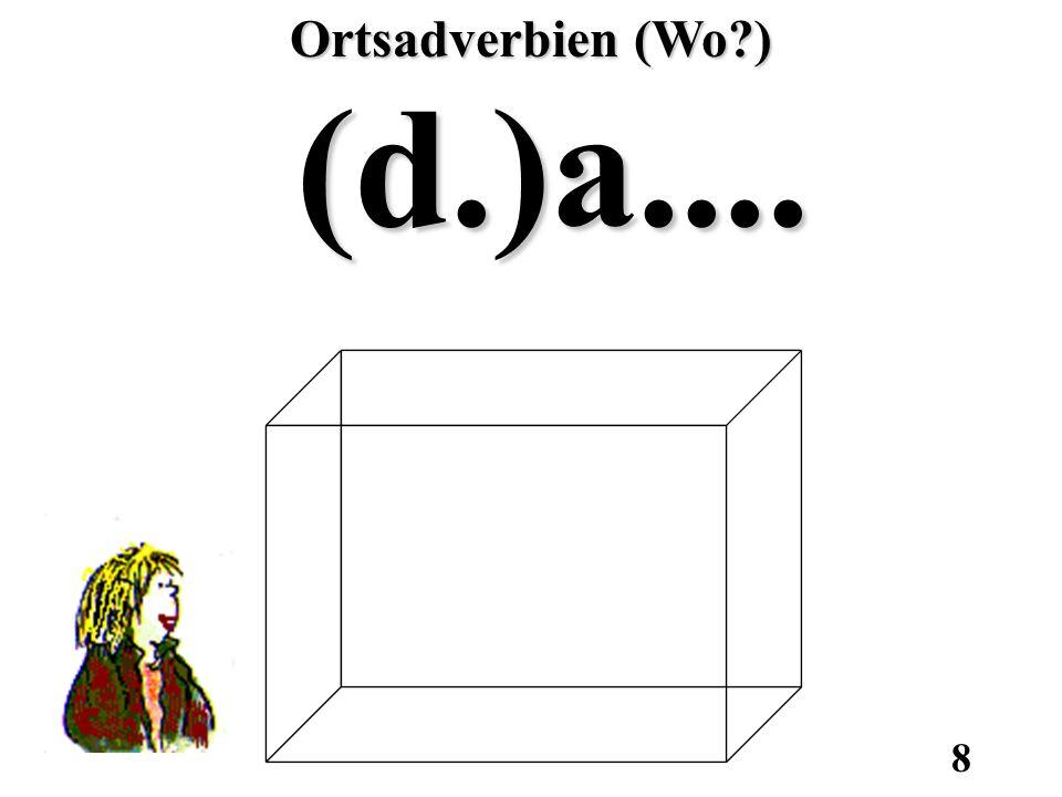 Ortsadverbien (Wo ) (d.)a....
