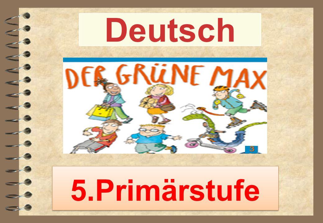 Deutsch 5.Primärstufe