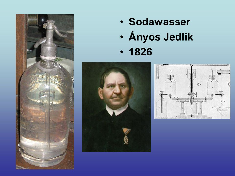 Sodawasser Ányos Jedlik 1826