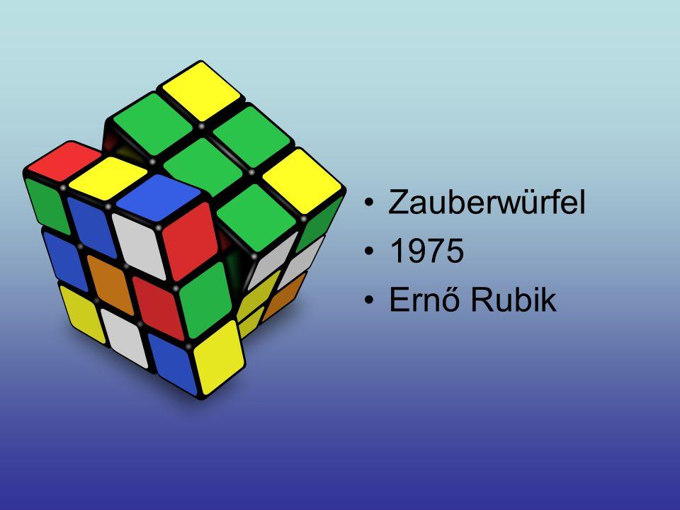 Zauberwürfel 1975 Ernő Rubik