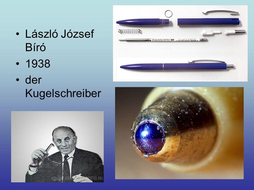 László József Bíró 1938 der Kugelschreiber