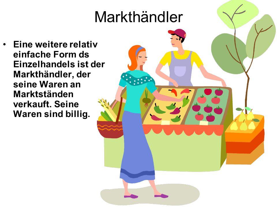 Markthändler