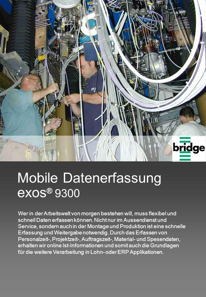 Mobile Datenerfassung exos® 9300