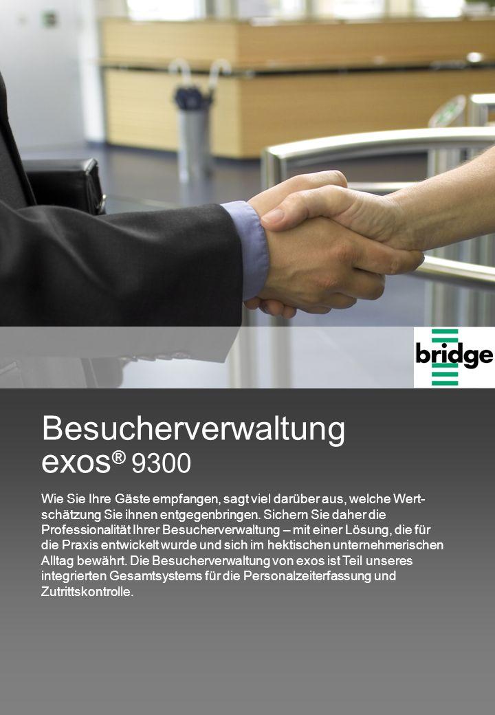 exos® 9300 Besucherverwaltung