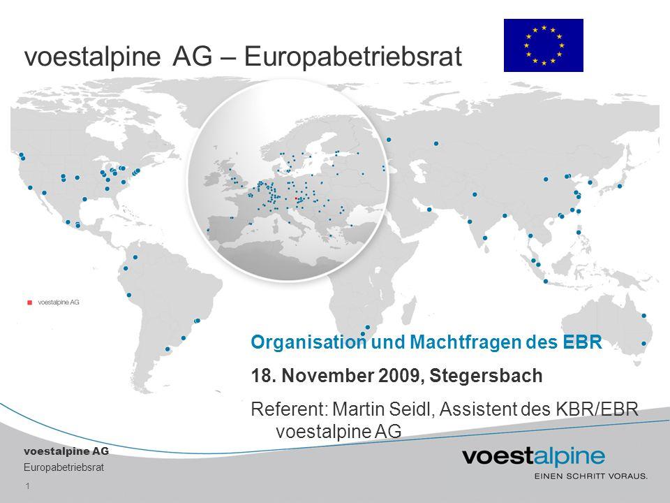 voestalpine AG – Europabetriebsrat