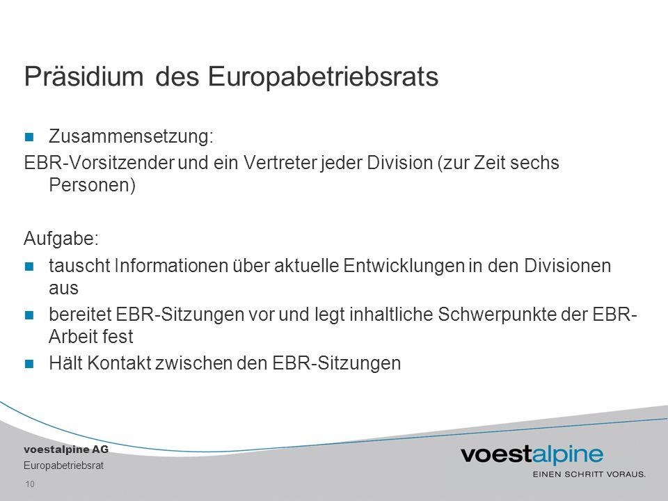 Präsidium des Europabetriebsrats