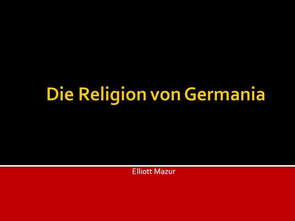 Die Religion von Germania