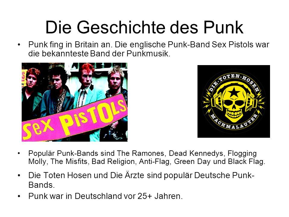 Die Geschichte des Punk