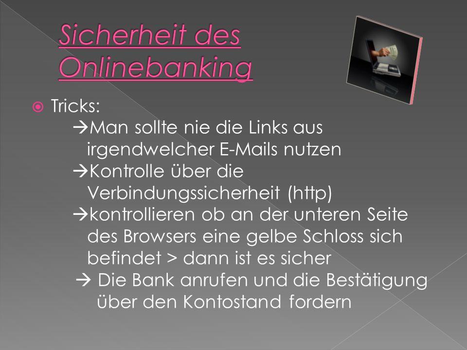 Sicherheit des Onlinebanking
