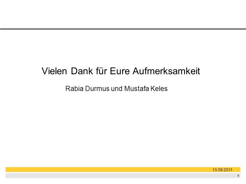 Rabia Durmus und Mustafa Keles