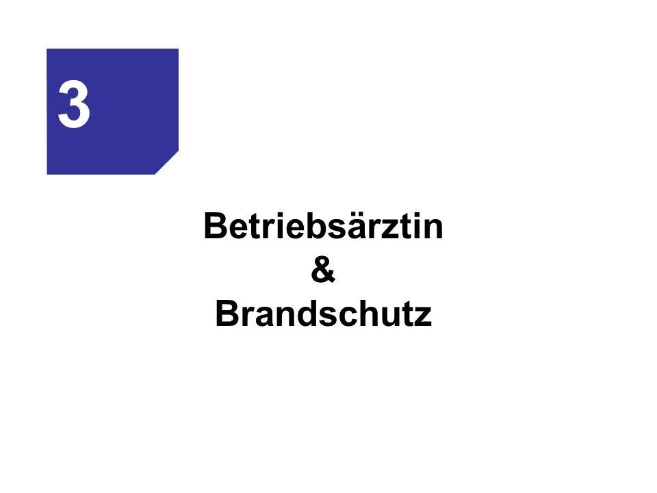 Betriebsärztin & Brandschutz