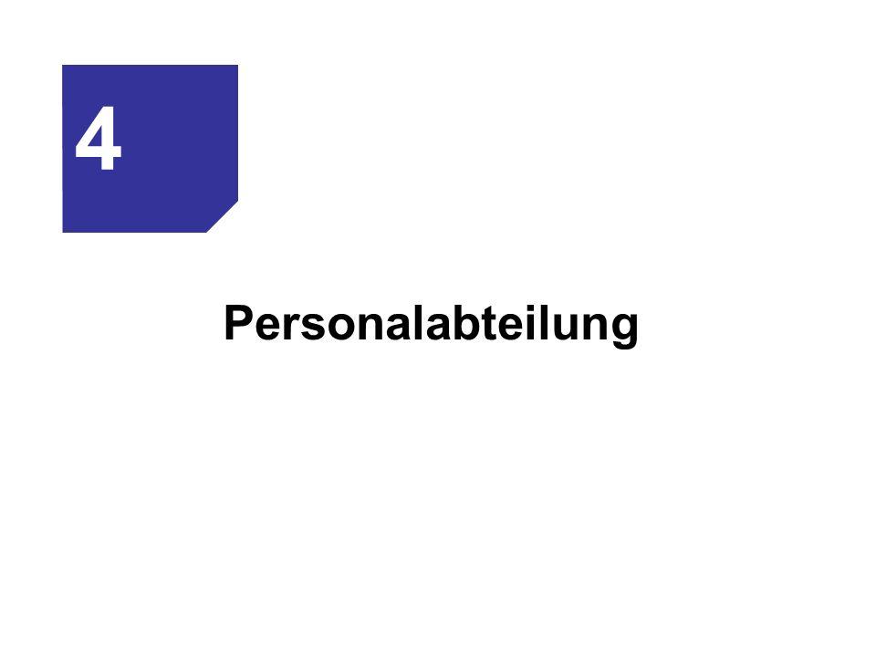 4 Personalabteilung
